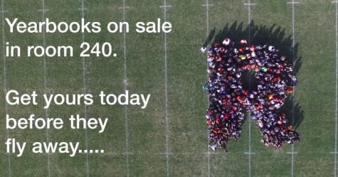 Yearbook Cover Drone Advertisement