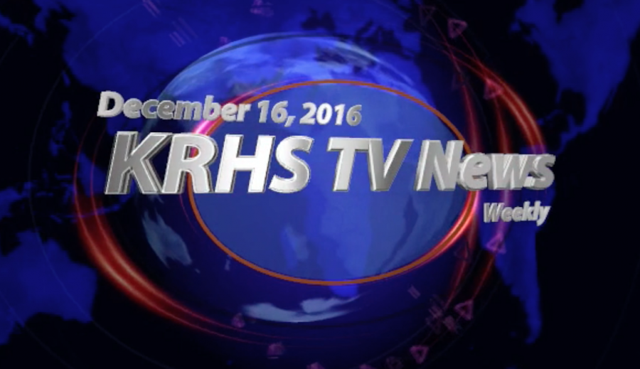 KRHS Weekly TV News for December 16