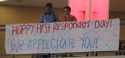 First Responders  Come to Ritenour for Lunch