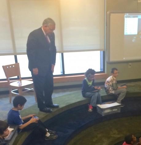 Governor Nixon praises Marion PLTW students in visit