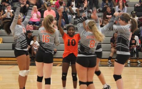Girls volleyball wins home opener