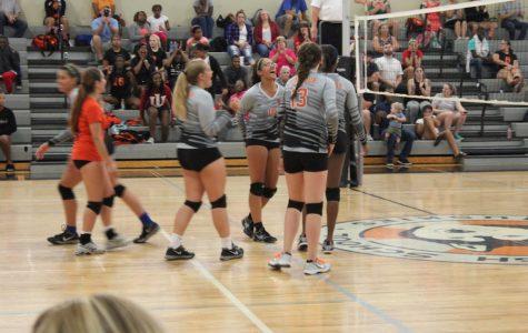 Ritenour vs Clayton Volleyball