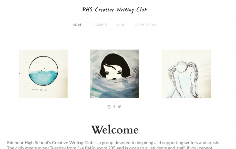 RHS Creative Writing Club hosts website