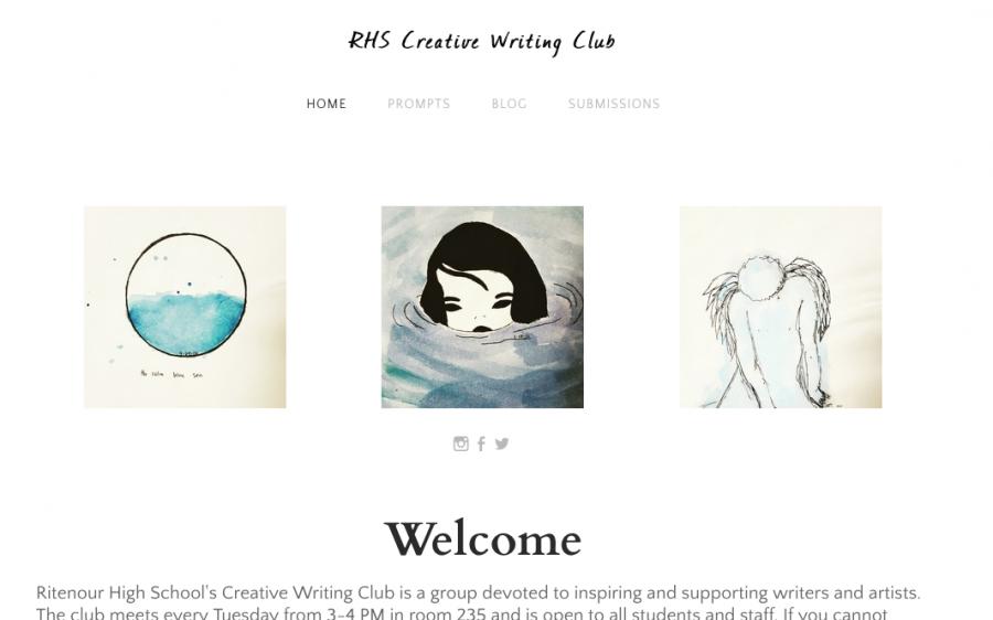 RHS Creative Writing Club hosts website