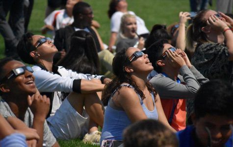 Ritenour Experiences Eclipse on Monday Afternoon