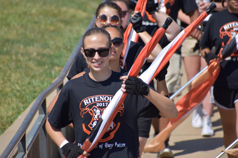 Ritenour's Orange and Black Day Kicks Off 17-18 School Year