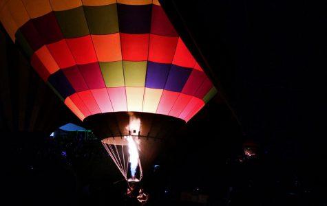 Balloon Glow on Art Hill