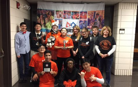 "Ritenour ""robo hounds"" qualify for state robotics competition"