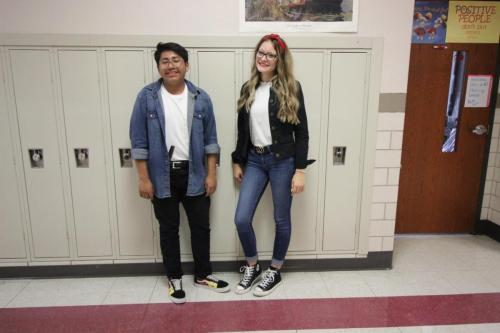 Junior Jose Ventura and Senior Tayah Tyler