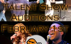 2018 Talent Show Promotion Material