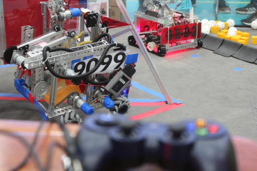 Ritenour+robotics+gets+first+place