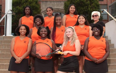 Girls tennis places second in their district