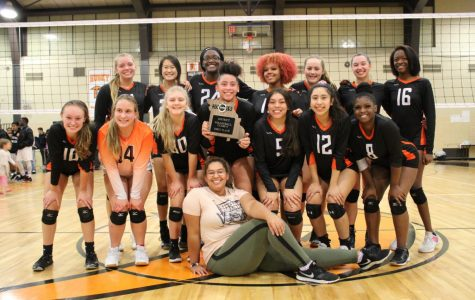Girls volleyball finishes their record-breaking season