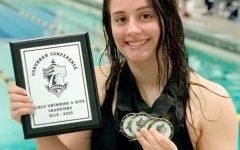 Senior Alyssa Lane breaks 100 meter breaststroke record