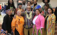 Teachers stand in solidarity of Black History Month
