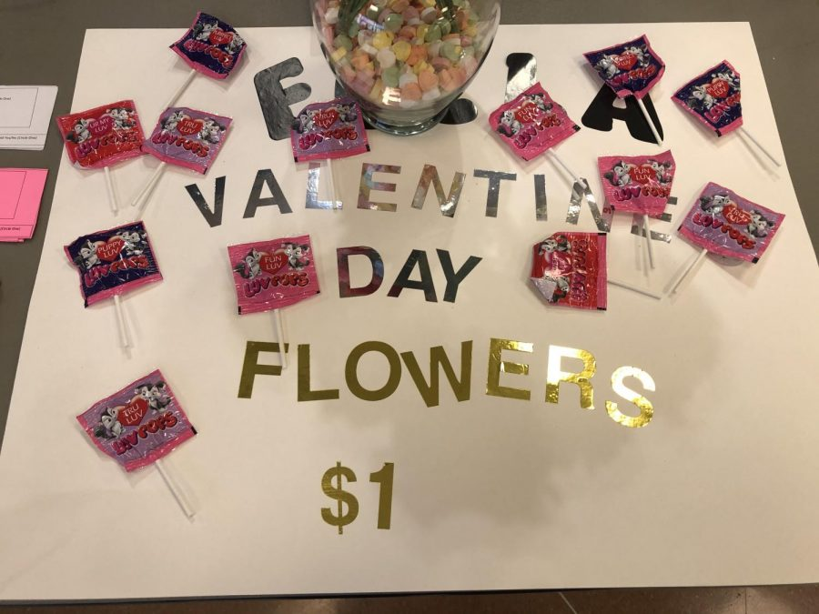FCCLA sells carnations for Valentine's Day