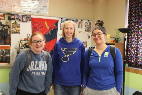 Spirit Week: Blues Day 03/03