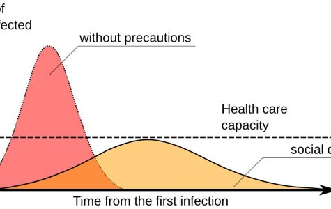 Spatial/Social distancing delays the further spread of a virus and preserves the capacity of the health system.