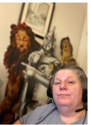 Quarantine Classroom Cribs - Media teacher Jane Bannester
