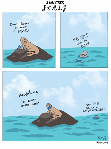 Sinister Seals - Comic Strip