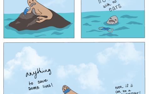 Sinister Seals - Comic Strip