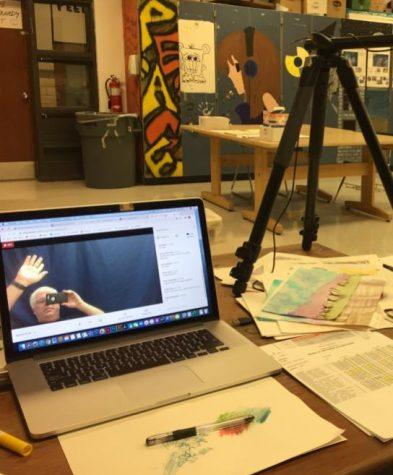 Quarantine Classroom Cribs - Art Teacher Paul Kennedy